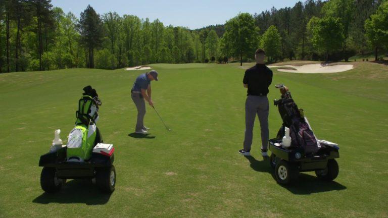 Club Car's Tempo Walk Gives Golfers A Motorized Caddie Golf Experience
