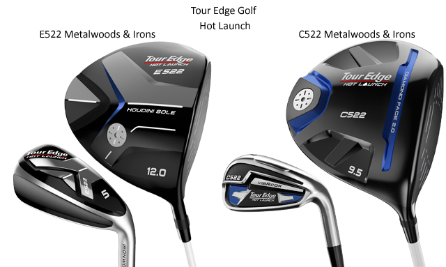 Hot Launch 522 Series from Tour Edge