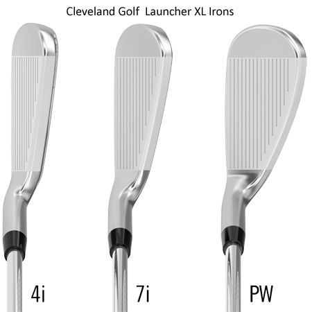 Launcher XL Irons from Cleveland Golf